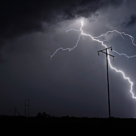 Power from the Sky by Cobus van Zyl - Landscapes Weather ( lightning, storm, thunderstorm, thunder, storms )