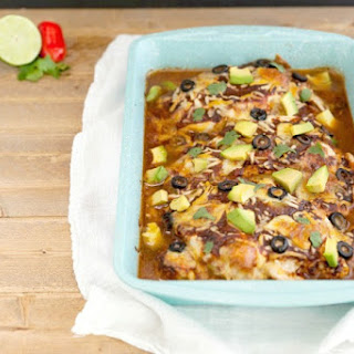 Easy Mexican Chicken Bake Low Carb.