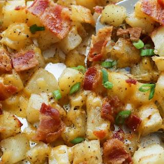 Crispy Cheese And Potato Bake Recipes