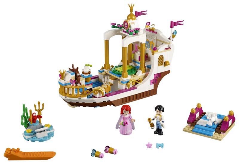 Lego® 41153 Barco Real de Ceremonia de Ariel