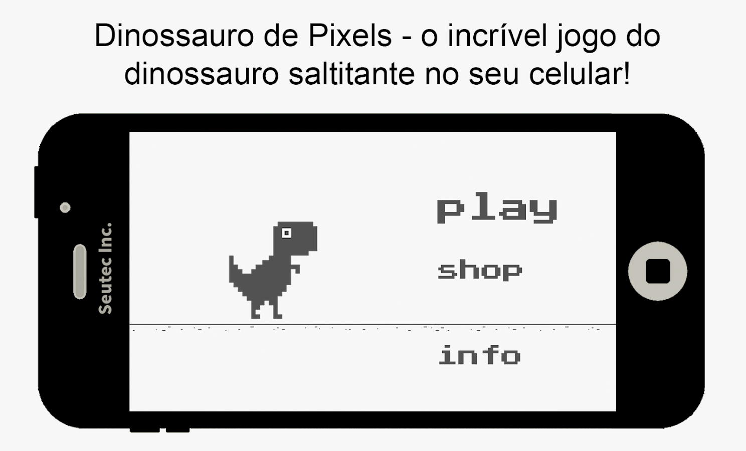 Pixel Dinosaur- screenshot