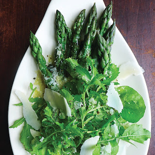 ASPARAGUS with PARMESAN and ARUGULA Recipe