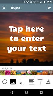 Text on Photo - Texpho - náhled
