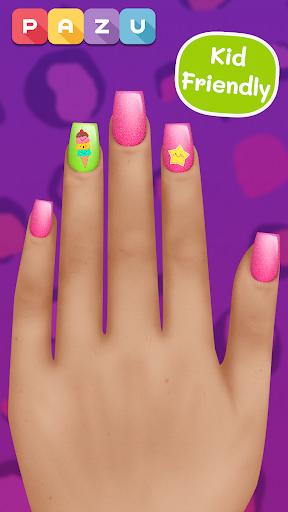 Girls Nail Salon - Manicure games for kids 1.07 screenshots 3