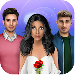 Magic Red Rose Story - Interactive Story Games Icon