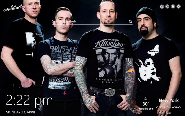 Volbeat HD Wallpapers Rock Music Theme