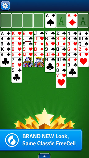 FreeCell Solitaire screenshot