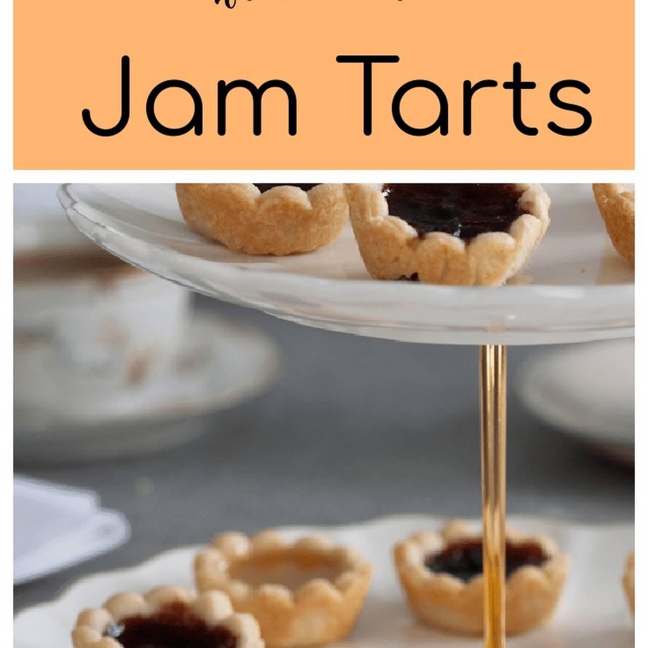 Fruit Tarts (Jam Tea Tarts)