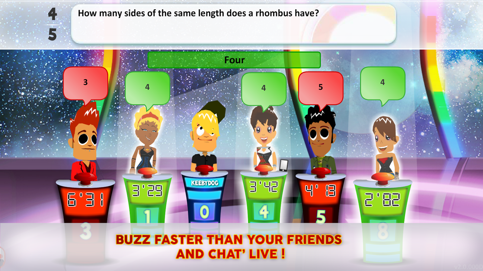 Quiz Superbuzzer 2- screenshot