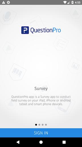 QuestionPro - Offline Surveys screenshots 1