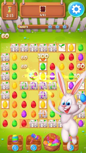 Easter Match 3: Chocolate Candy Egg Swipe King screenshots 1