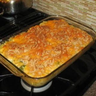 Chicken Spaghetti Casserole.
