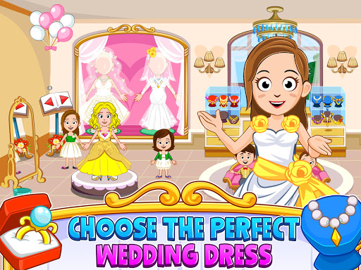My Town : Wedding Bride Game for Girls apkdebit screenshots 7