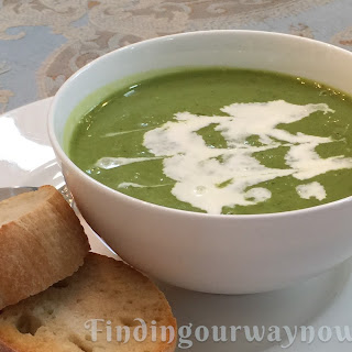 Pea Soup With Herbs