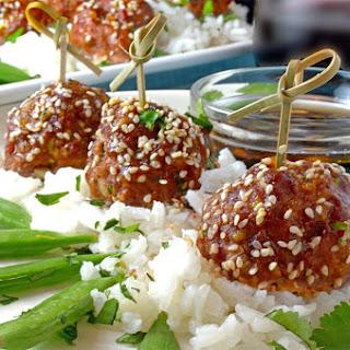 Asian Meatballs.