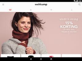 Screenshot of wehkamp