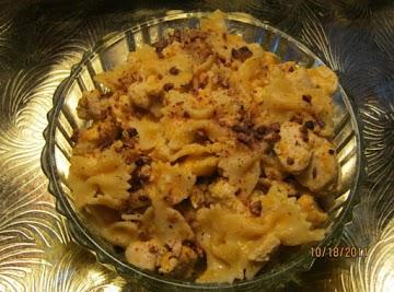 Pasta & Chicken In Pumpkin Cream Sauce Recipe