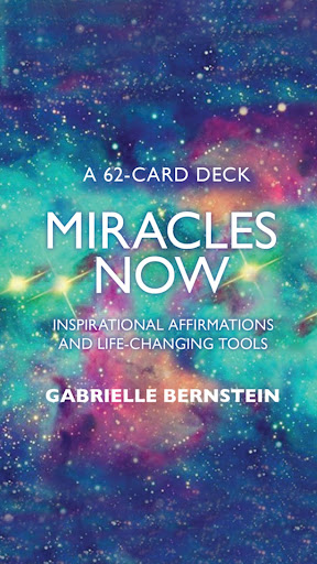 Screenshot for Miracles Now by Gabrielle Bernstein in United States Play Store