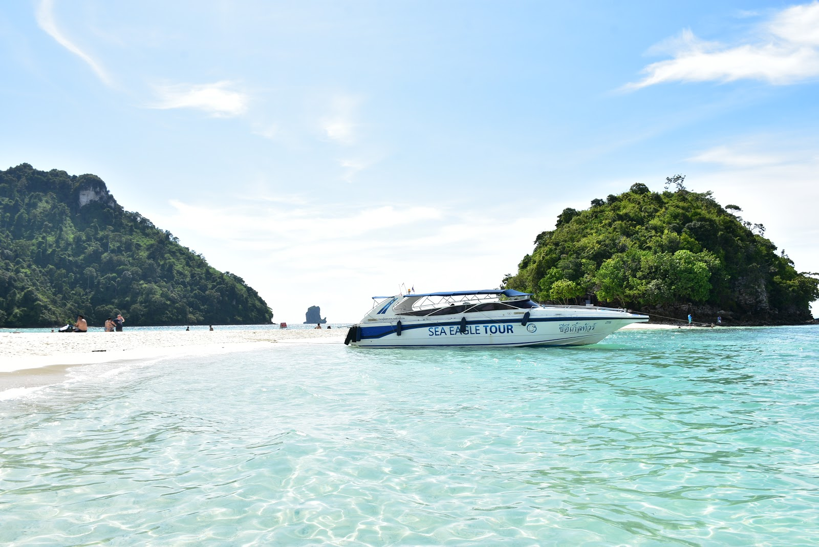 4 Island Speed Boat Tour by Sea Eagle