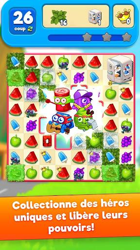 Télécharger gratuit Sugar Heroes - combinar-3 mondial jeu! APK MOD 2