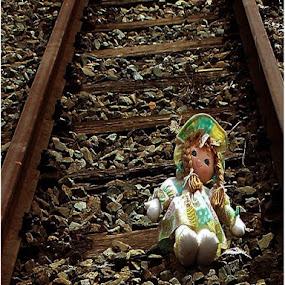 Lonely doll by Marissa Enslin - Digital Art Things