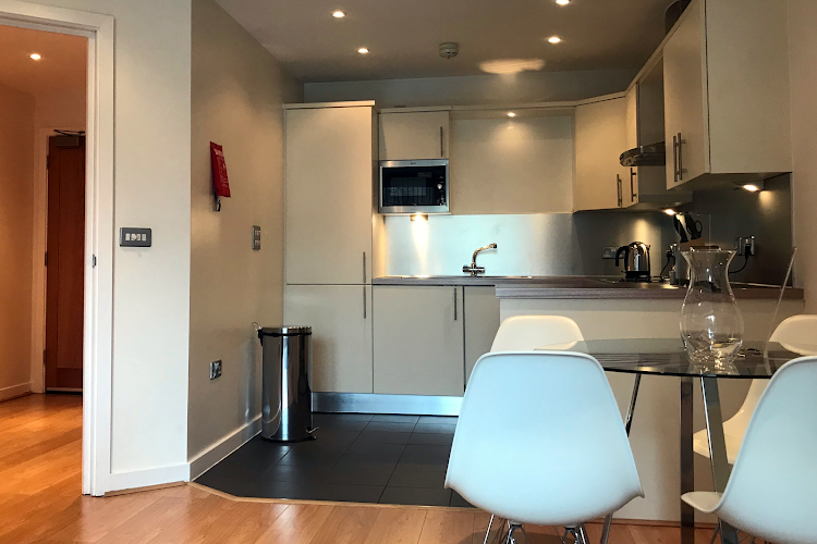 Fully equipped kitchen at Clerkenwell Executive