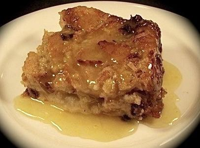 Eve's Apple Bread Pudding Recipe