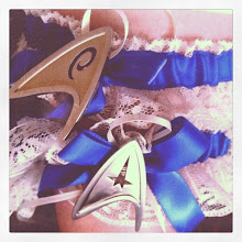 Photo: Trek Insignia Garters!