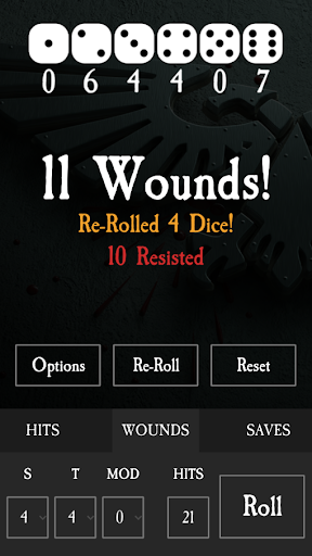 Screenshot for WH40K: Dice Companion (8th Edition) Ad-Free in United States Play Store