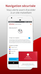 McAfee Mobile Security: sécurité mobile Capture d'écran