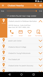 Chabad Nearby- screenshot thumbnail