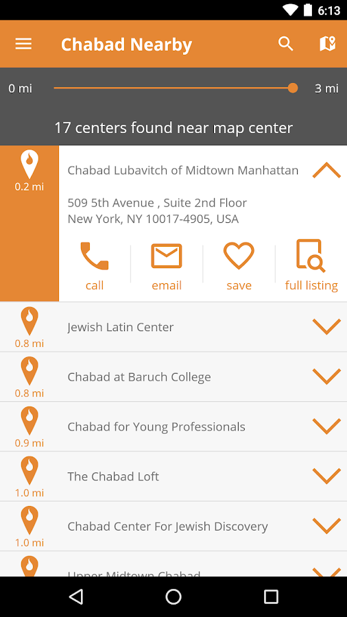 Chabad Nearby- screenshot