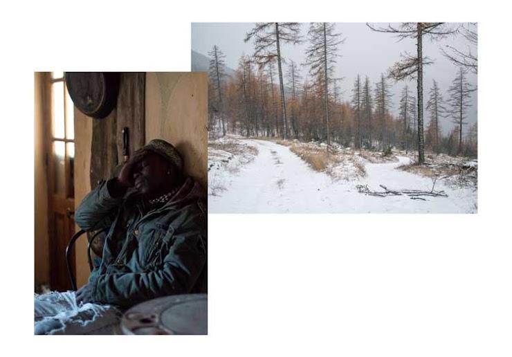 Moussa est arrivé en France il y a quelques mois et fait parti des bénévoles du Refuge Solidaire à Briançon. La nuit il ne dort pas, alors il écrit pour raconter son parcours d'exil. Dans la montagne enneigée de Montgenèvre, deux chemins s'offrent à la traversée, l'un est barré. Novembre 2018.