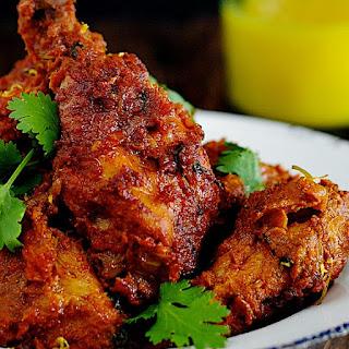 Fried Spicy Chicken.