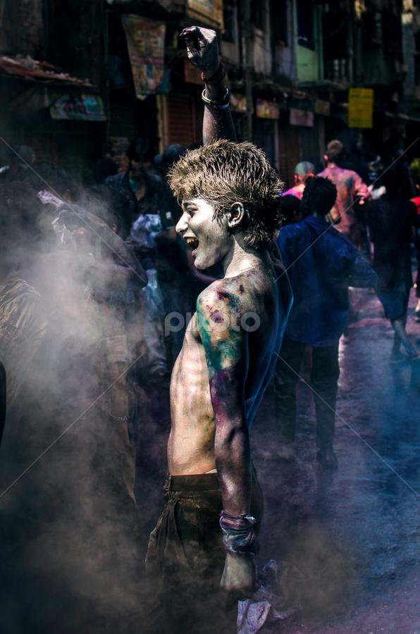 The Spirit of Celebration by Rahat Amin - People Street & Candids ( festival, candid, holi, celebration, nikon, d5100, people, pwccandidcelebrations )