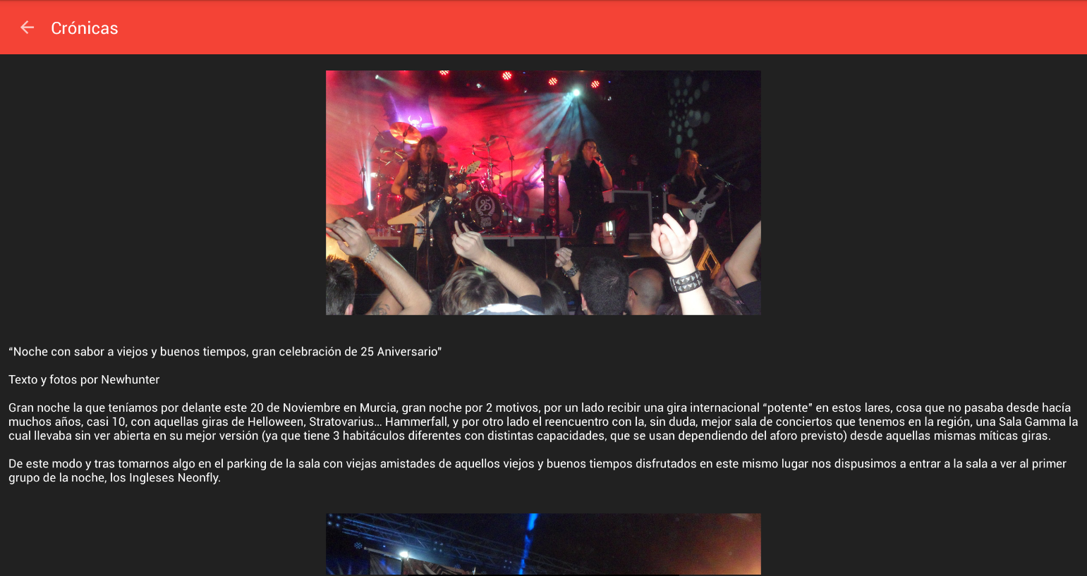 Dioses del Metal- screenshot