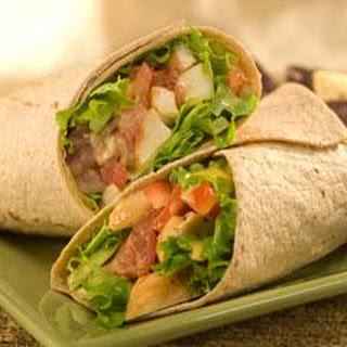 BLT Chicken Avocado Wraps