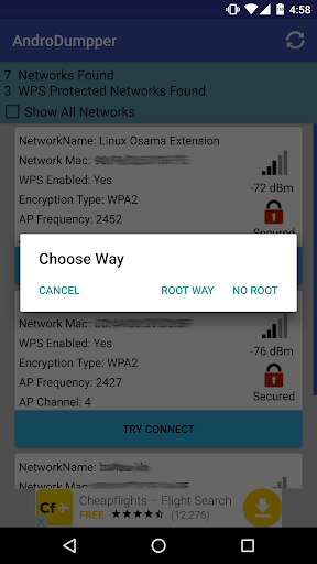 AndroDumpper Wifi ( WPS Connect ) 2.39 screenshots 3