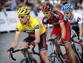Op eBay staat het shirt van Evans te koop waarmee hij de bergtrui won in de Tour Down Under