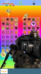 Meme Crush - MLG Kush edition- screenshot thumbnail