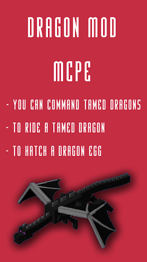 Dragon MOD For MCPE