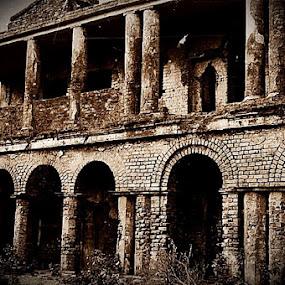 NIL Kuthi. near Ichamoti nadi,West Bengal. India by Sudhindu bikash Mandal - Buildings & Architecture Public & Historical