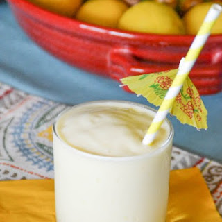 Pina Colada Whip Cocktail