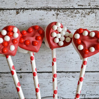 Valentine's Day Marshmallow Pops & Candies