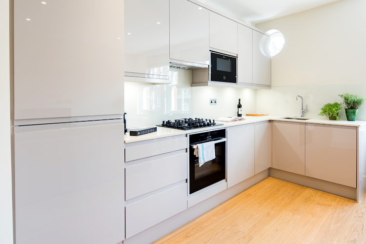 Fully equipped kitchen at Fitzrovia