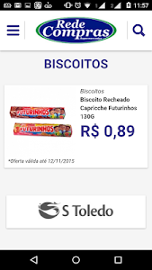 RedeCompras Supermercados screenshot 2