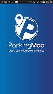 ParkingMap - náhled