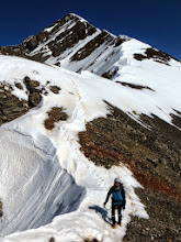 """Photo: We were on """"point"""" from here to the summit."""