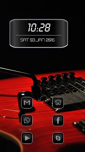 Blood Red Guitar