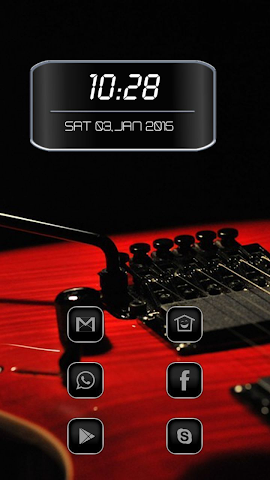android Blood Red Guitar Screenshot 0